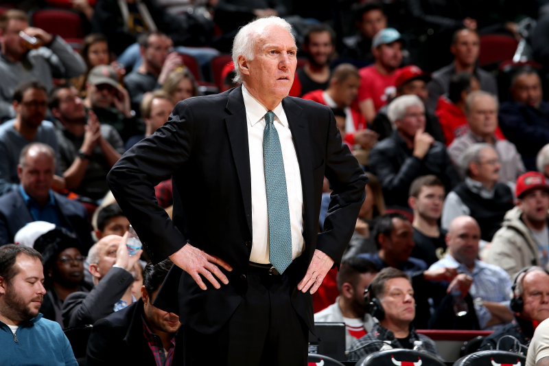 Gregg Popovich Says He's Hated the 3-Point Shot for 20 Years