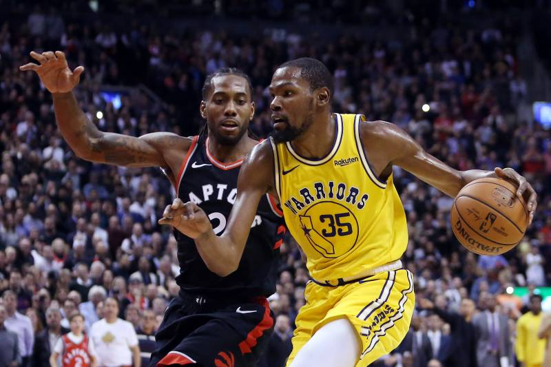 promo code 0f8ce f069f Kawhi Leonard, Kevin Durant Make It Official: NBA Needs Warriors-Raptors  Finals