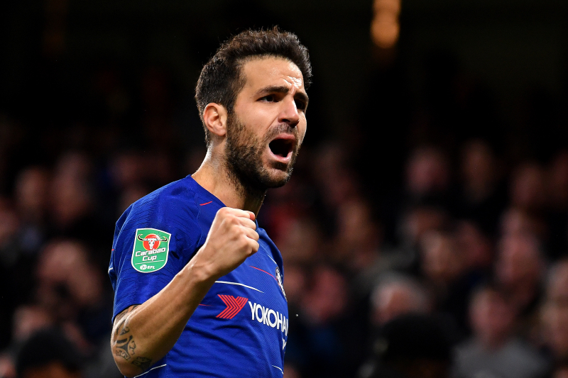Cesc Fabregas Says He 'Wants to Play More' Amid AC Milan Rumours