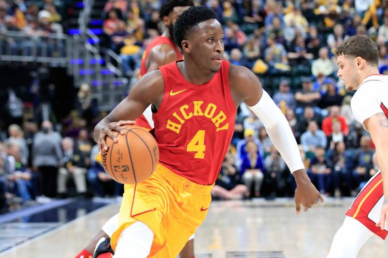 c538a07df3c Report  Pacers Fear Victor Oladipo s Gruesome Knee Injury Is Season ...