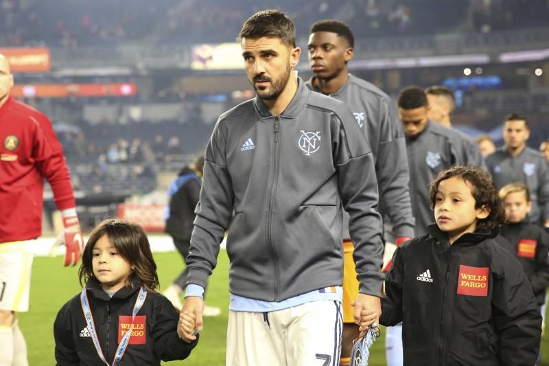David Villa Announces Move from New York City FC to J