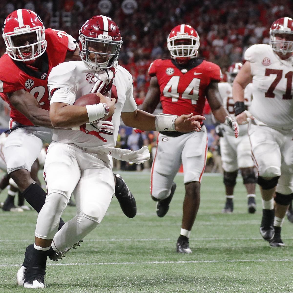 NCAA Football Rankings 2018: Week 15 Predictions Based On