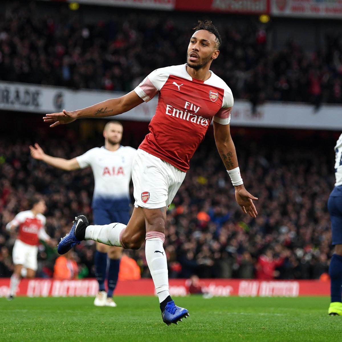 Pierre-Emerick Aubameyang Powers Arsenal to Impressive Comeback vs ...