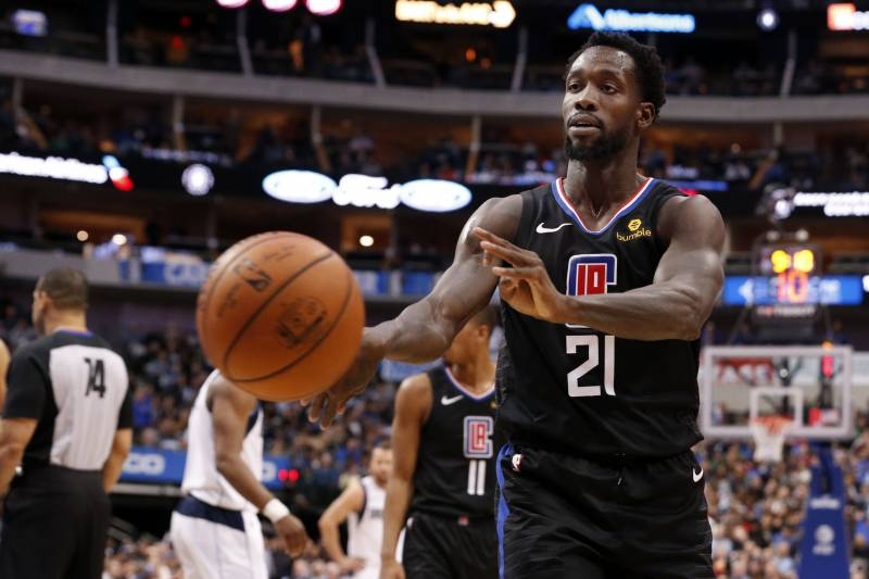 Clippers Patrick Beverley Fined 25k For Tossing Ball At