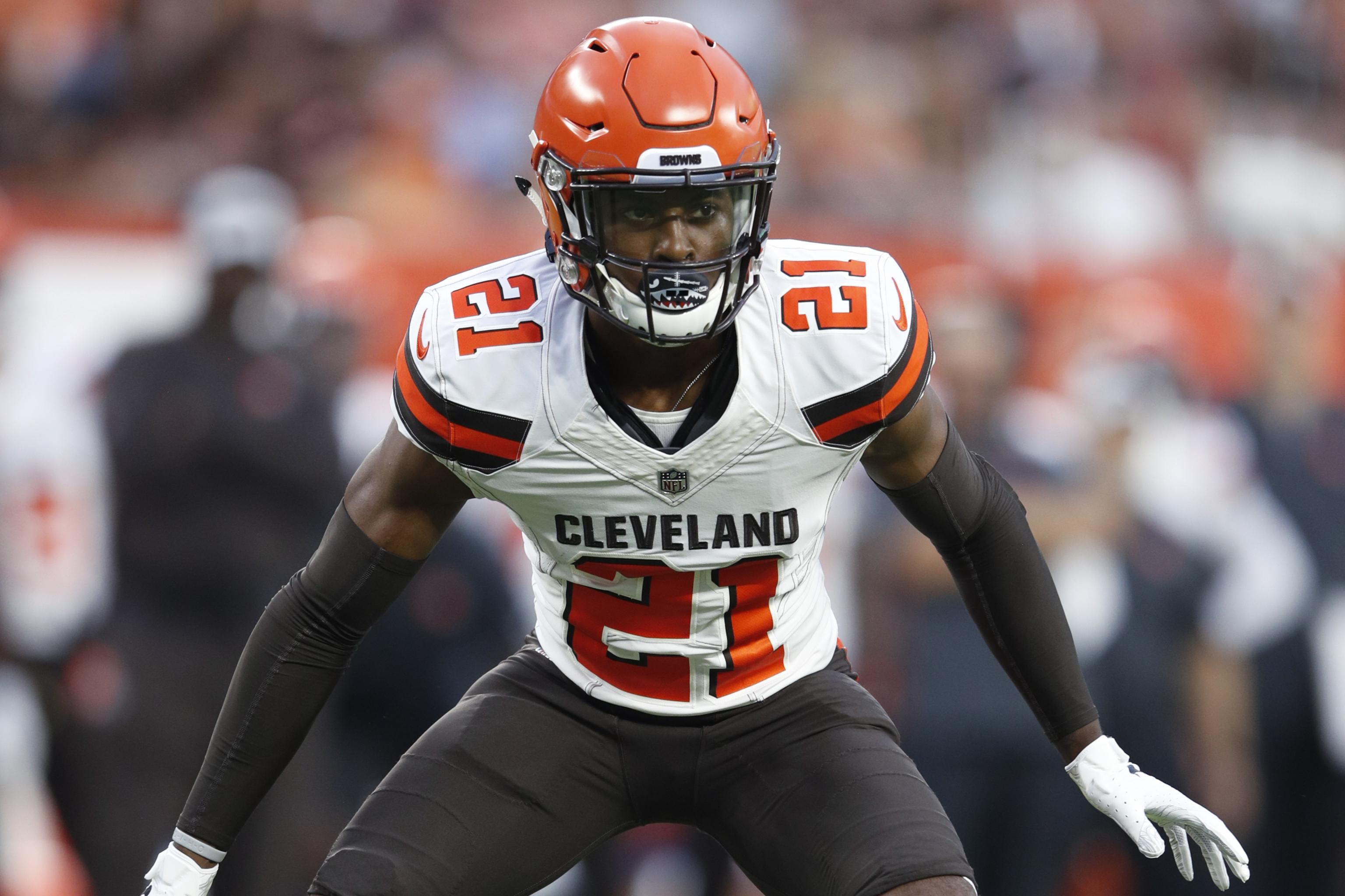 big sale 44d17 07223 Rookie CB Denzel Ward Diagnosed with Concussion After Browns ...