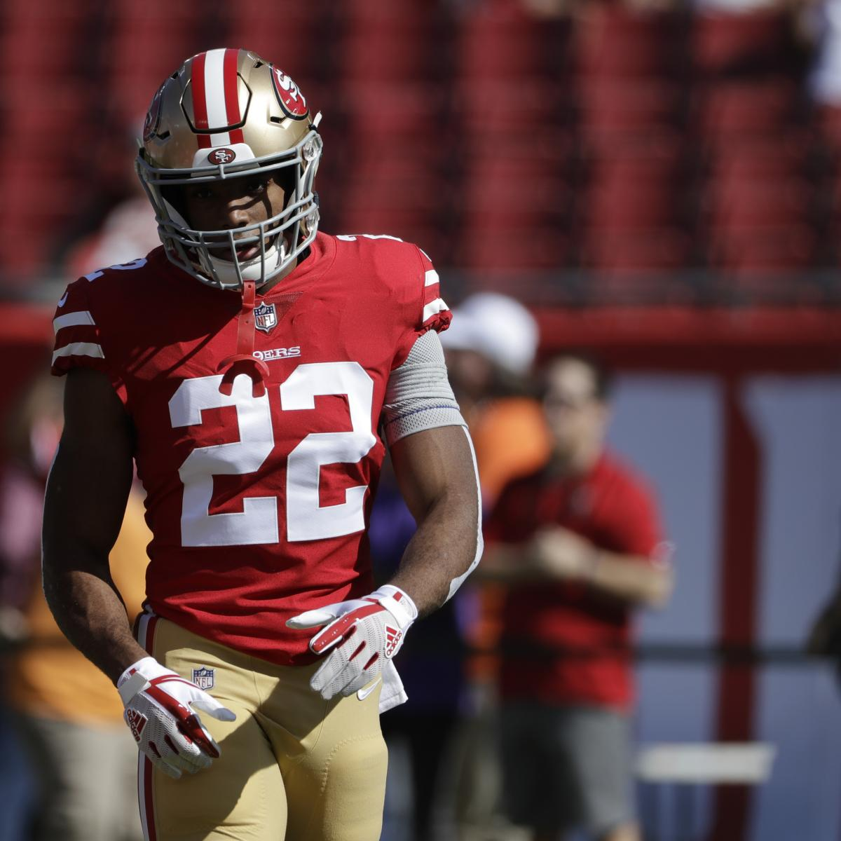 49ers  Matt Breida Ruled out for Week 17 vs. Rams with Ankle Injury ... 98d74faaa