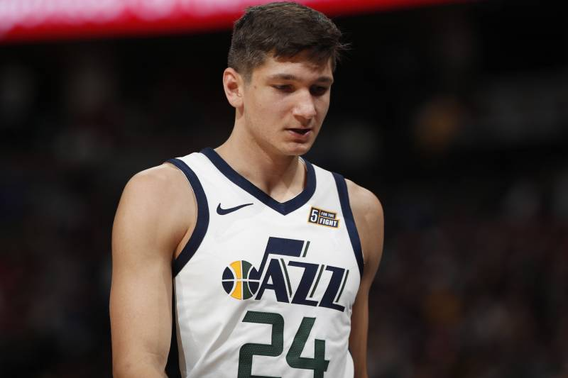 san francisco 184a2 7019a Grayson Allen Assigned to G League's Salt Lake City Stars by ...