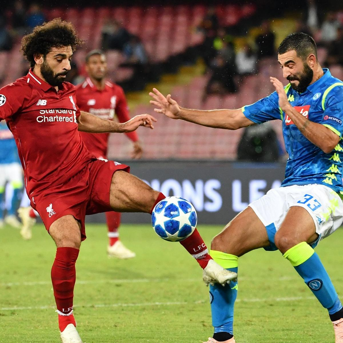 Champions League 2019 Live Stream Odds For Tuesday S: Liverpool Vs. Napoli: Live Stream Info, Odds, Group