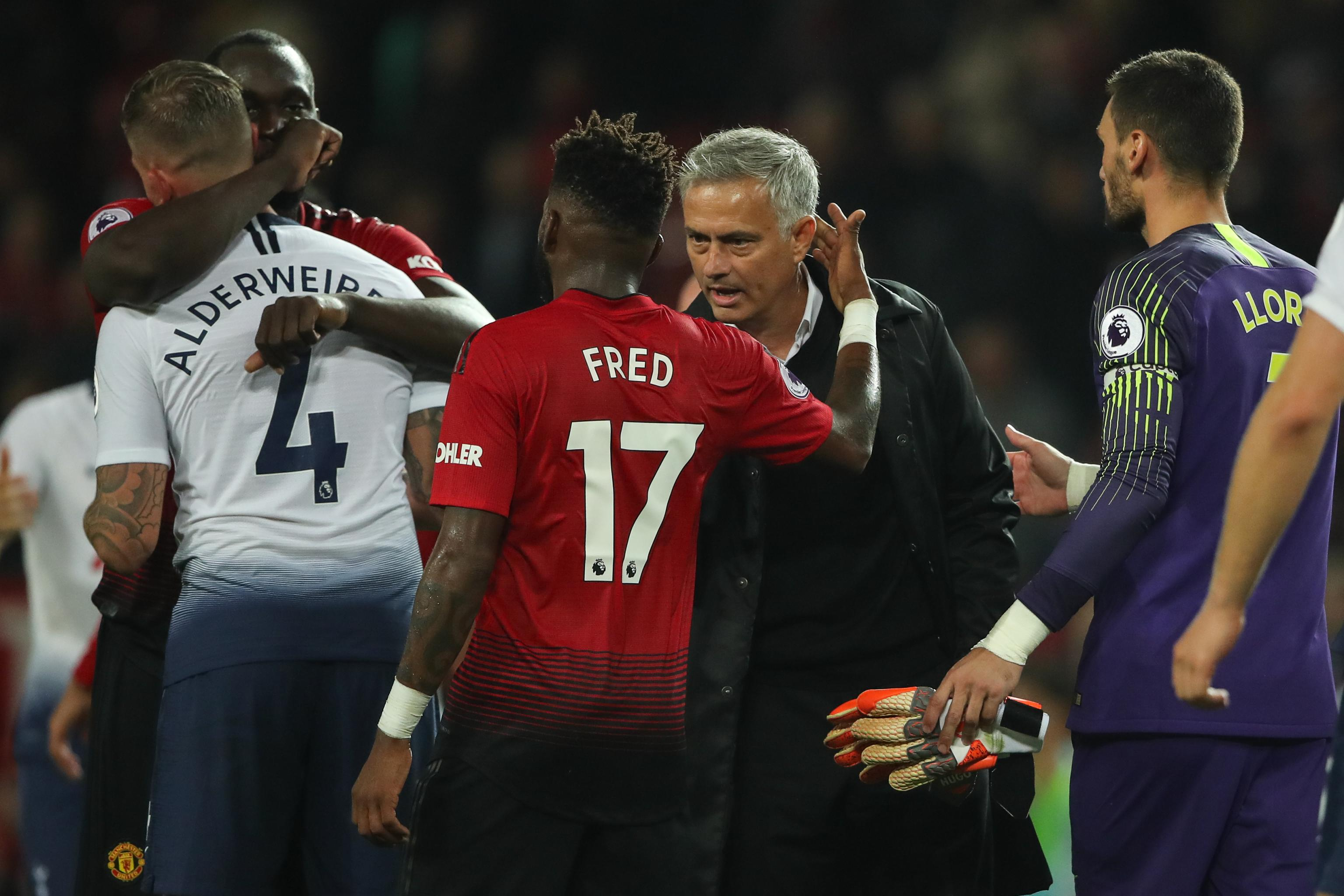 new styles 59c8e 0a0fc Report: Manchester United Players Astonished by Mourinho's ...