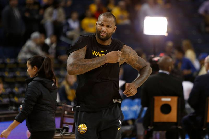 Warriors News  Injured DeMarcus Cousins Could Play in G League This ... 3848773bc
