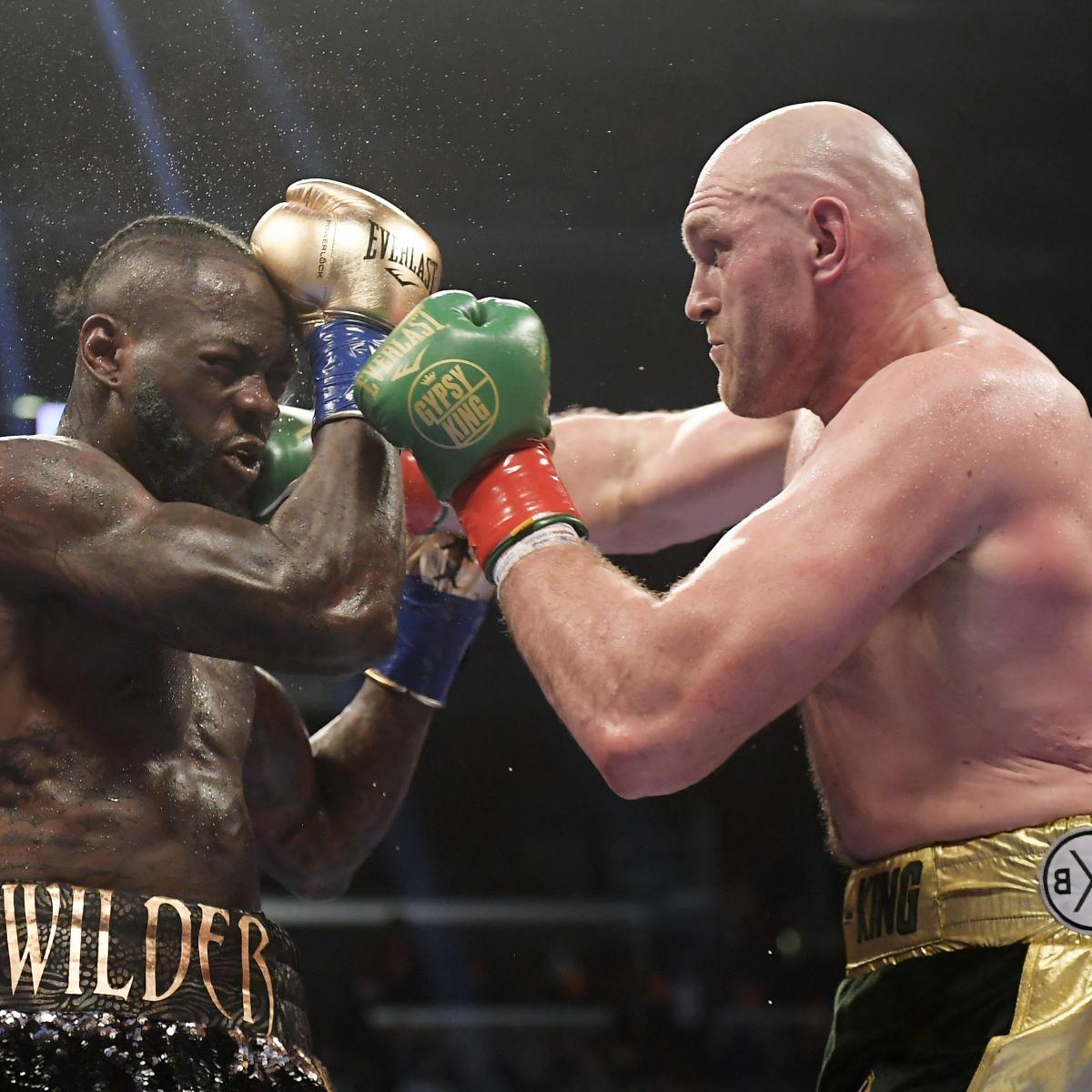 Deontay Wilder Vs. Tyson Fury 'Direct Rematch' Fight