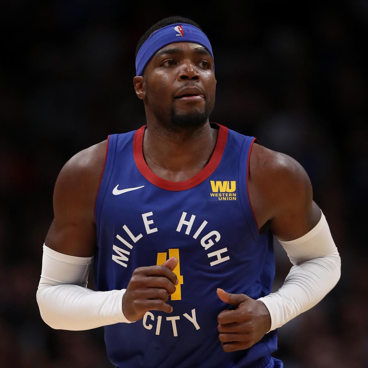 Nuggets Injury Report: Report: Nuggets' Paul Millsap Out 4-6 Weeks After Toe