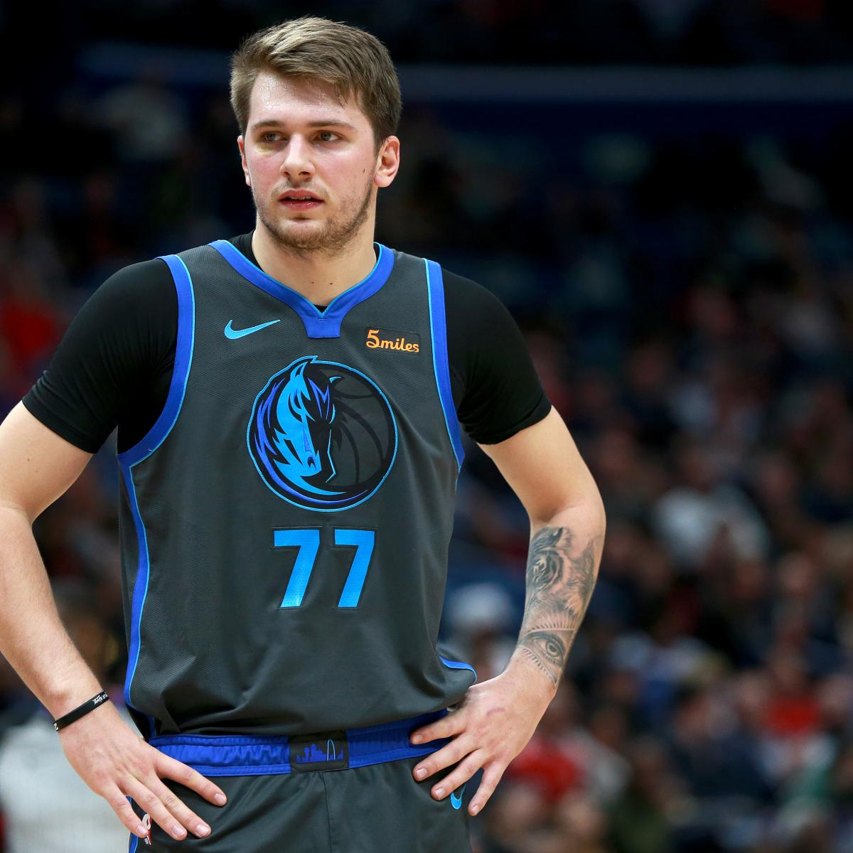 Luka Doncic S Hip Injury Suffered Vs Warriors Not Expected To Be Serious Bleacher Report Latest News Videos And Highlights