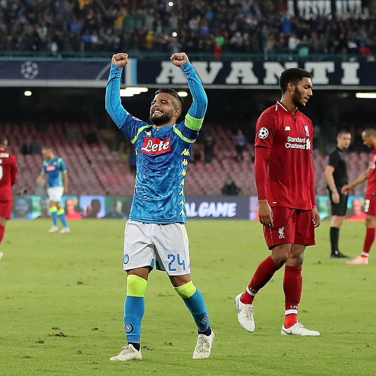 Champions League 2019 Live Stream Odds For Tuesday S: Champions League 2018: Odds, Live Stream, TV Schedule For