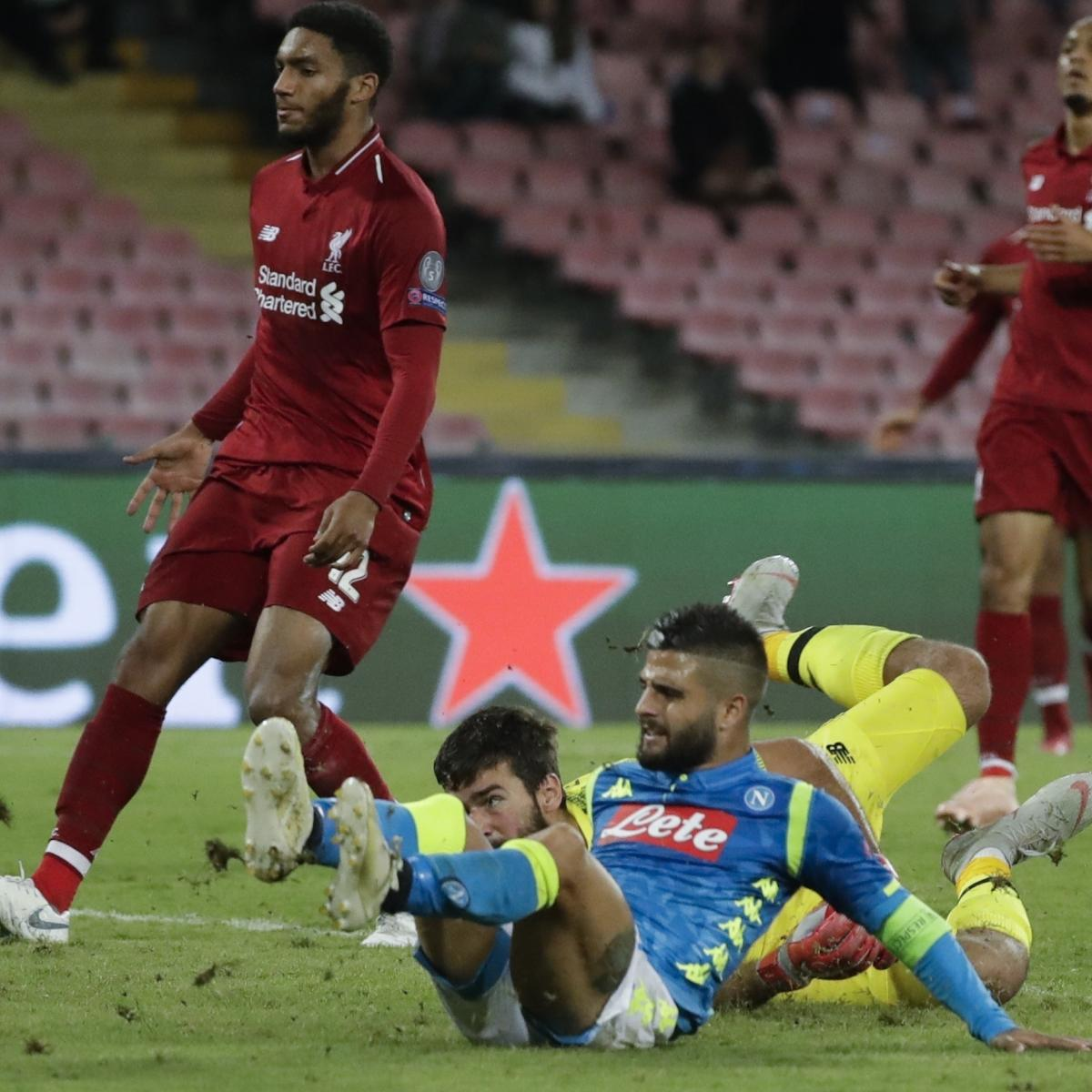 Champions League 2019 Live Stream Odds For Tuesday S: Liverpool Vs. Napoli: Odds, Preview, Live Stream, TV Info