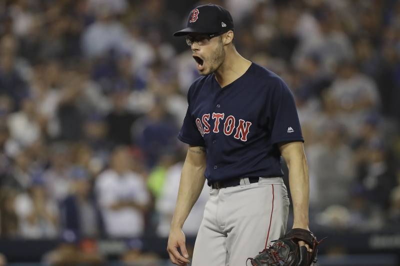 los angeles c93cb aa09e Dodgers Rumors: RP Joe Kelly, LA Agree to 3-Year, $25M ...