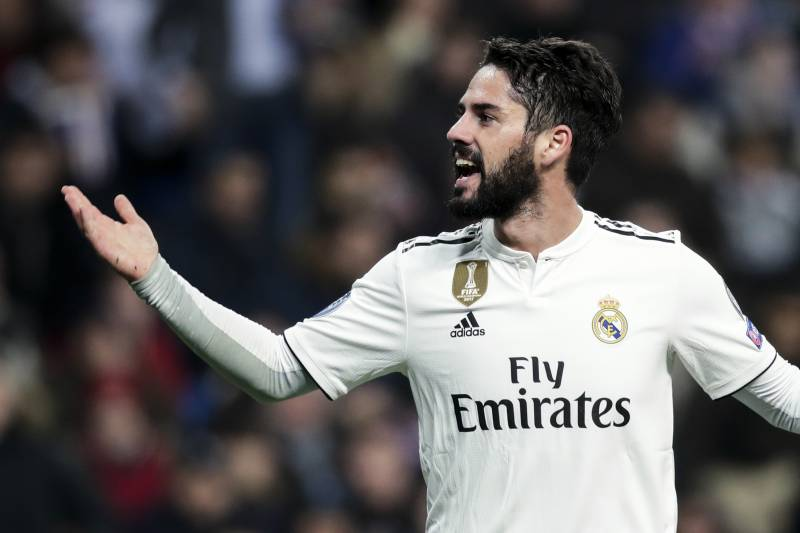 cde960b7911 MADRID, SPAIN - DECEMBER 12: Isco of Real Madrid during the UEFA Champions  League