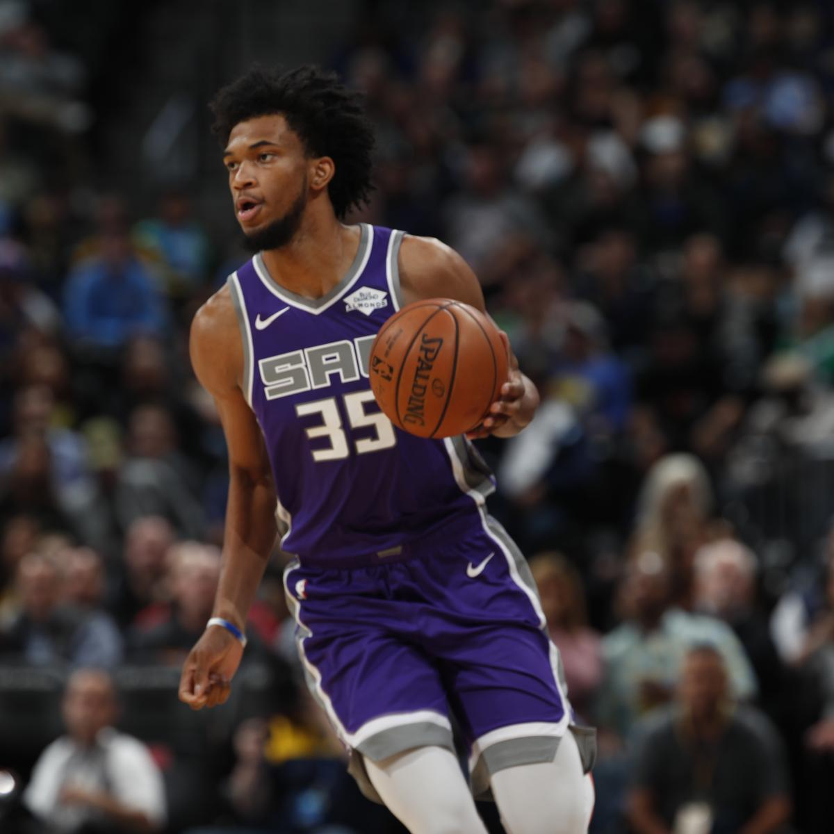 Kings Rookie Marvin Bagley III Out Approximately 2 More