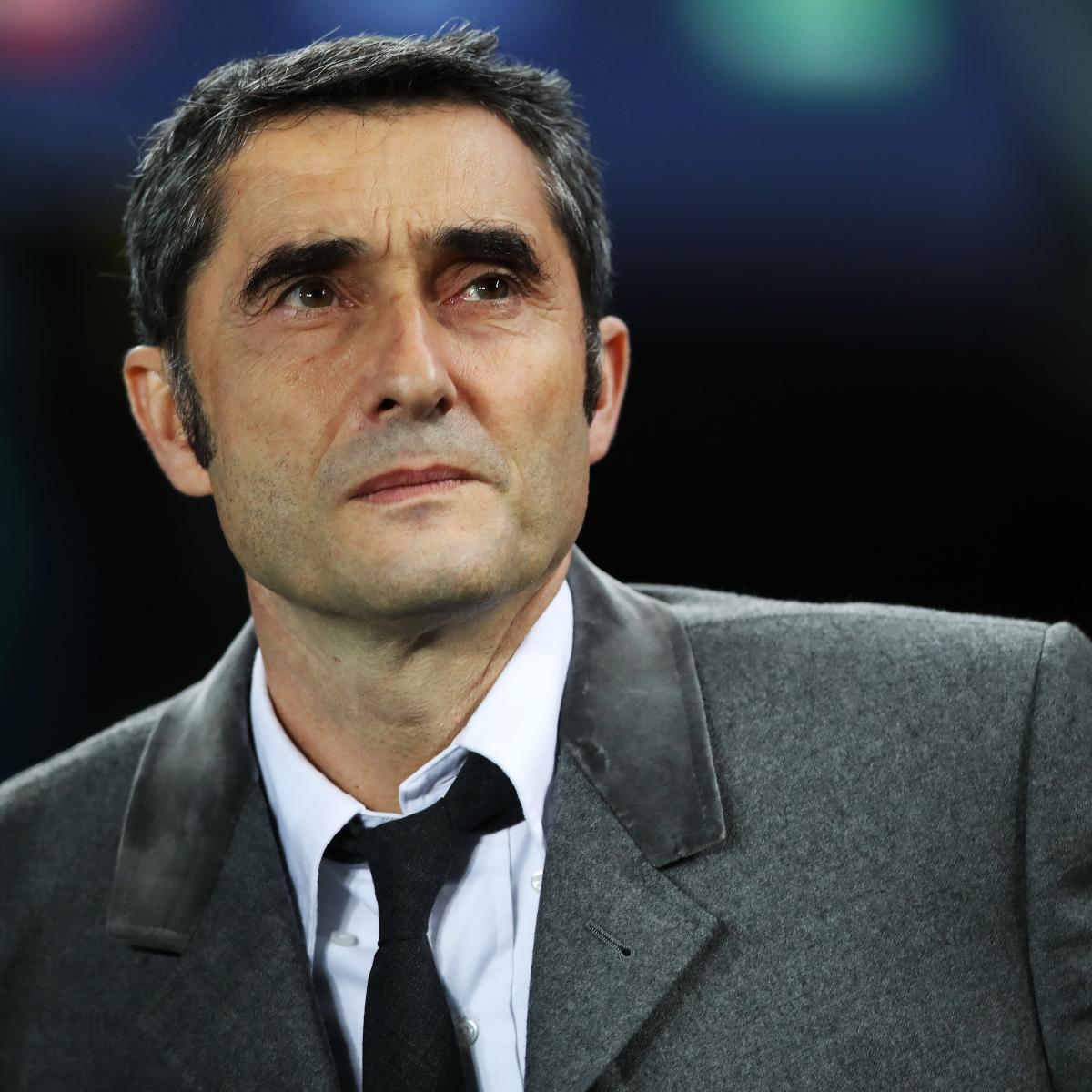 Ernesto Valverde Bisherige Trainerstationen