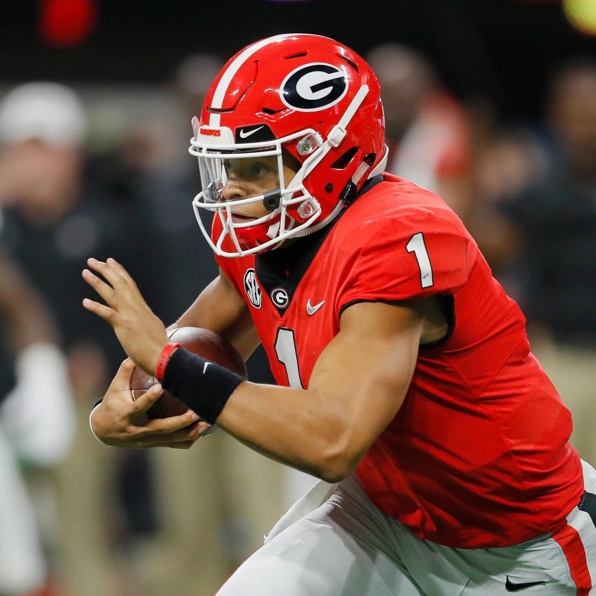 Former 5-Star QB Justin Fields Reportedly to Transfer from ...