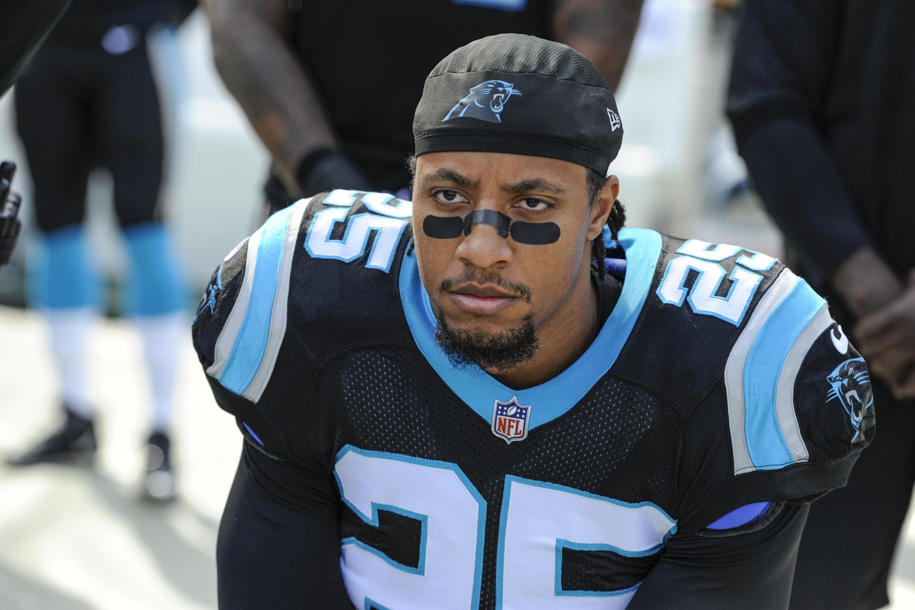 new concept 1a3d8 49ab4 Eric Reid Drug-Tested for 7th Time Since Joining Panthers ...