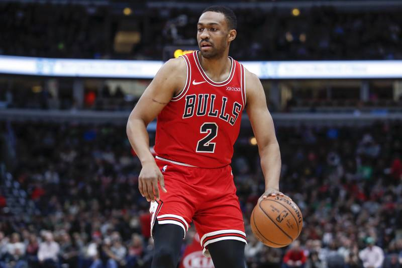 ad360529de07 Chicago Bulls forward Jabari Parker drives to the basket against the Boston  Celtics during the first