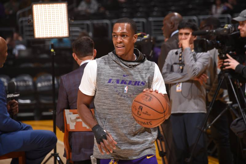 fb30c3efcf9c Lakers News  Latest on Rajon Rondo s Recovery