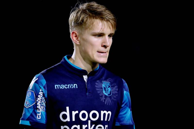 54a4177f4b8 Martin Odegaard Bemoans Lack of Opportunities at Real Madrid ...