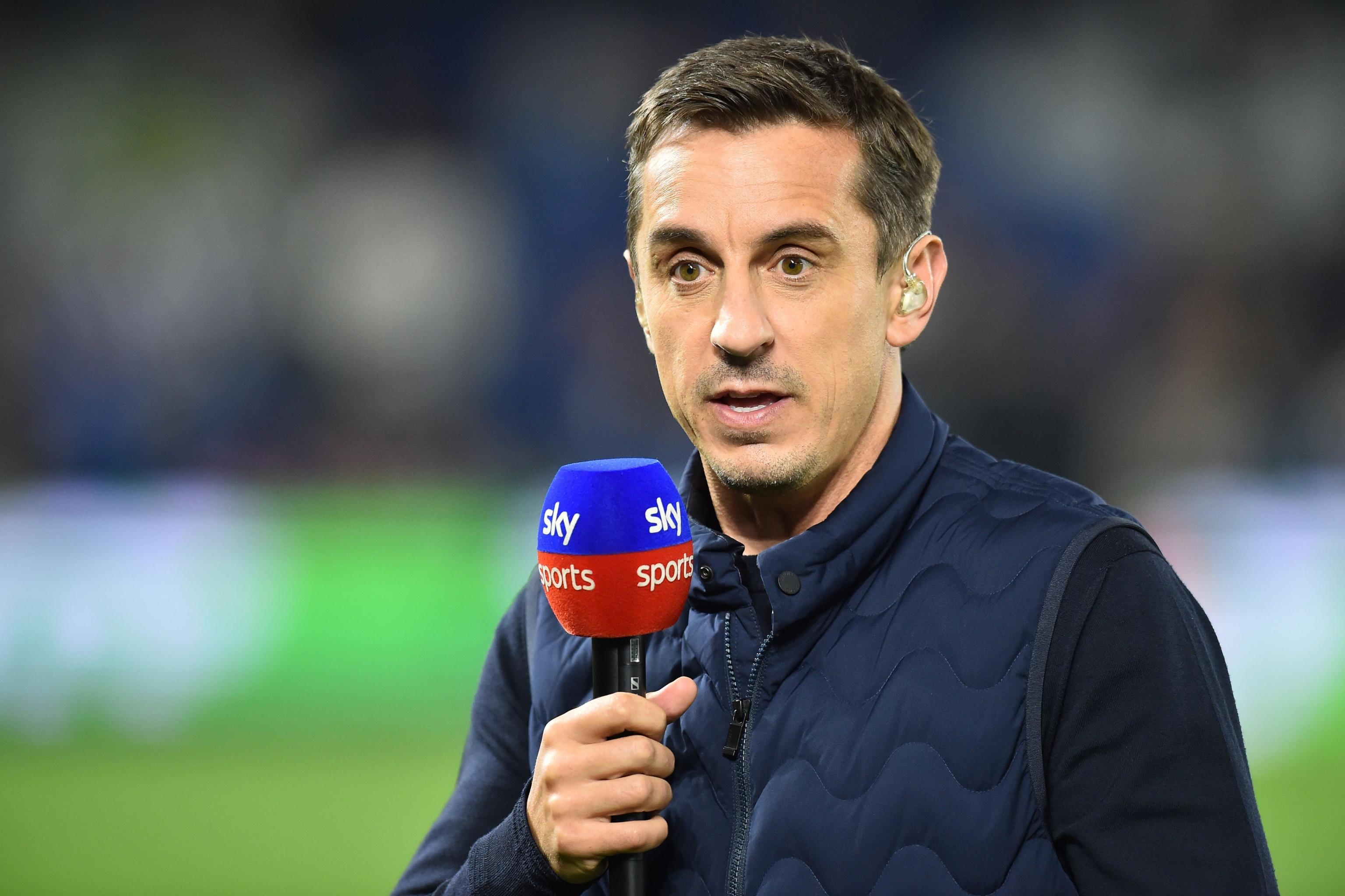 Gary Neville Says He Won't Take Up Manchester United Role 'In a ...