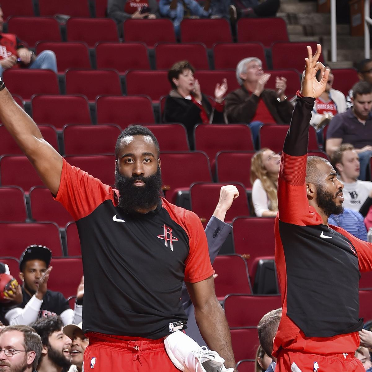 Houston Rockets Game Log: Houston Rockets Set NBA Record With 26 3-Pointers In A