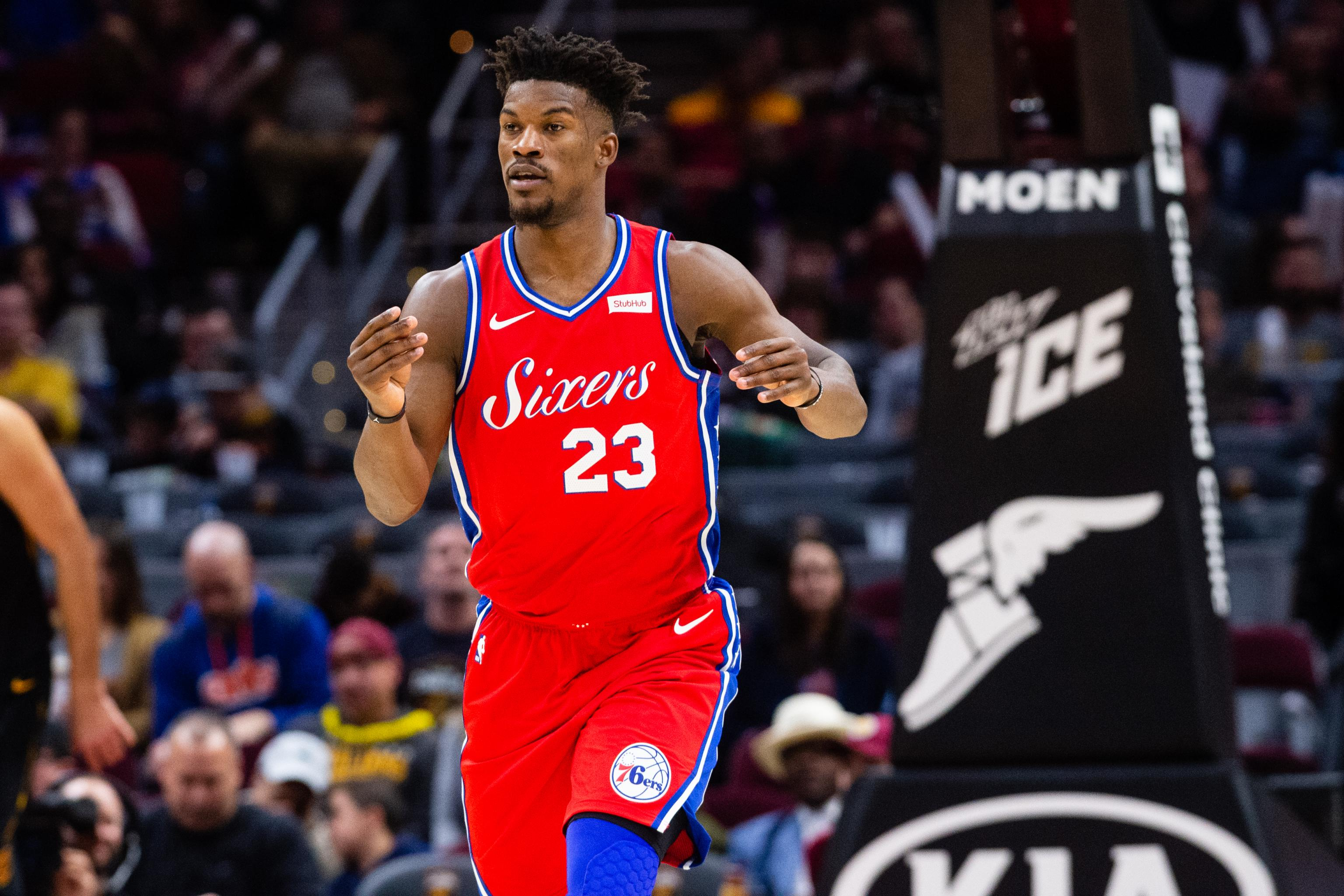 finest selection 7f8a2 39f37 Complementary' Jimmy Butler Has Been Exactly What the 76ers ...