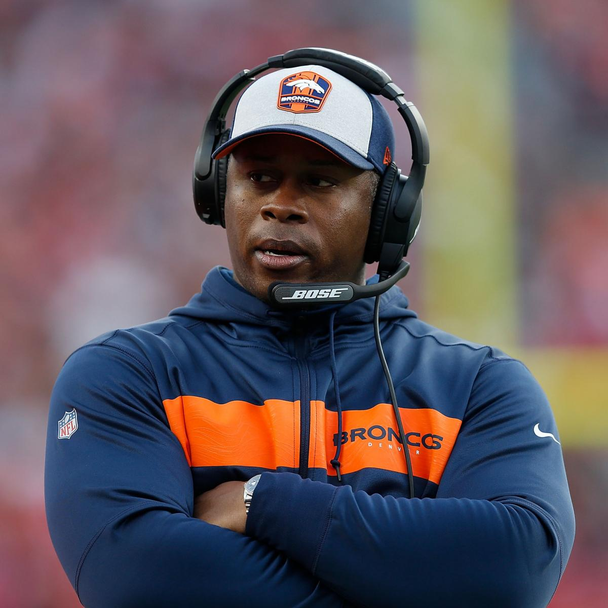NFL Rumors: HC Vance Joseph Expected To Be Fired By