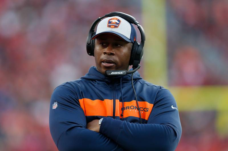 9d0884107c4 NFL Rumors  HC Vance Joseph Expected to Be Fired by Broncos After Season