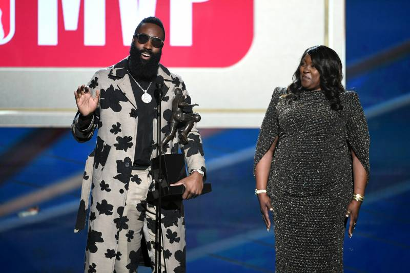 e114987c6822 James Harden s Mom Doesn t Have Time for NBA Trolls