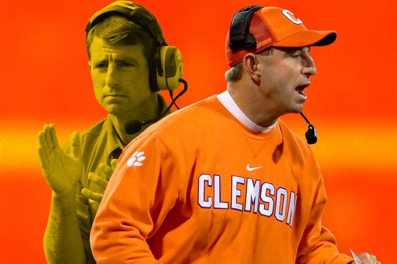 c81080029 Dabo Swinney's Rise at Clemson Full of Improbable, Entertaining Twists and  Turns