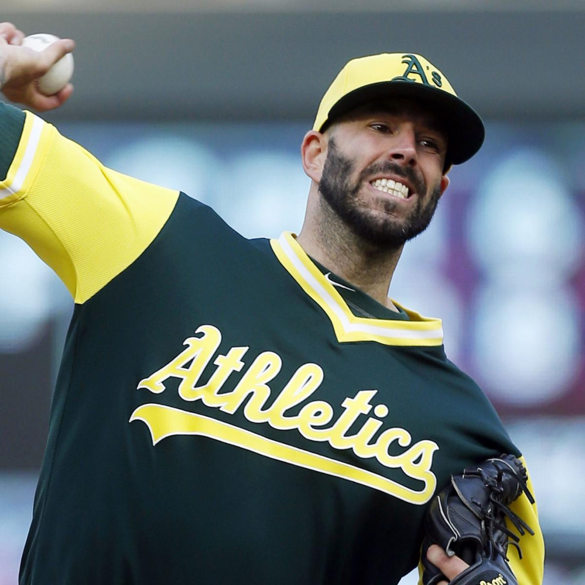 Mike Fiers, A's Agree To 2-Year Contract Reportedly Worth