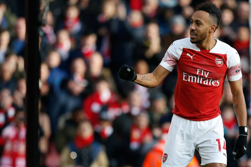 Premier League Week 18 Top Scorers: Aubameyang, Salah, Kane