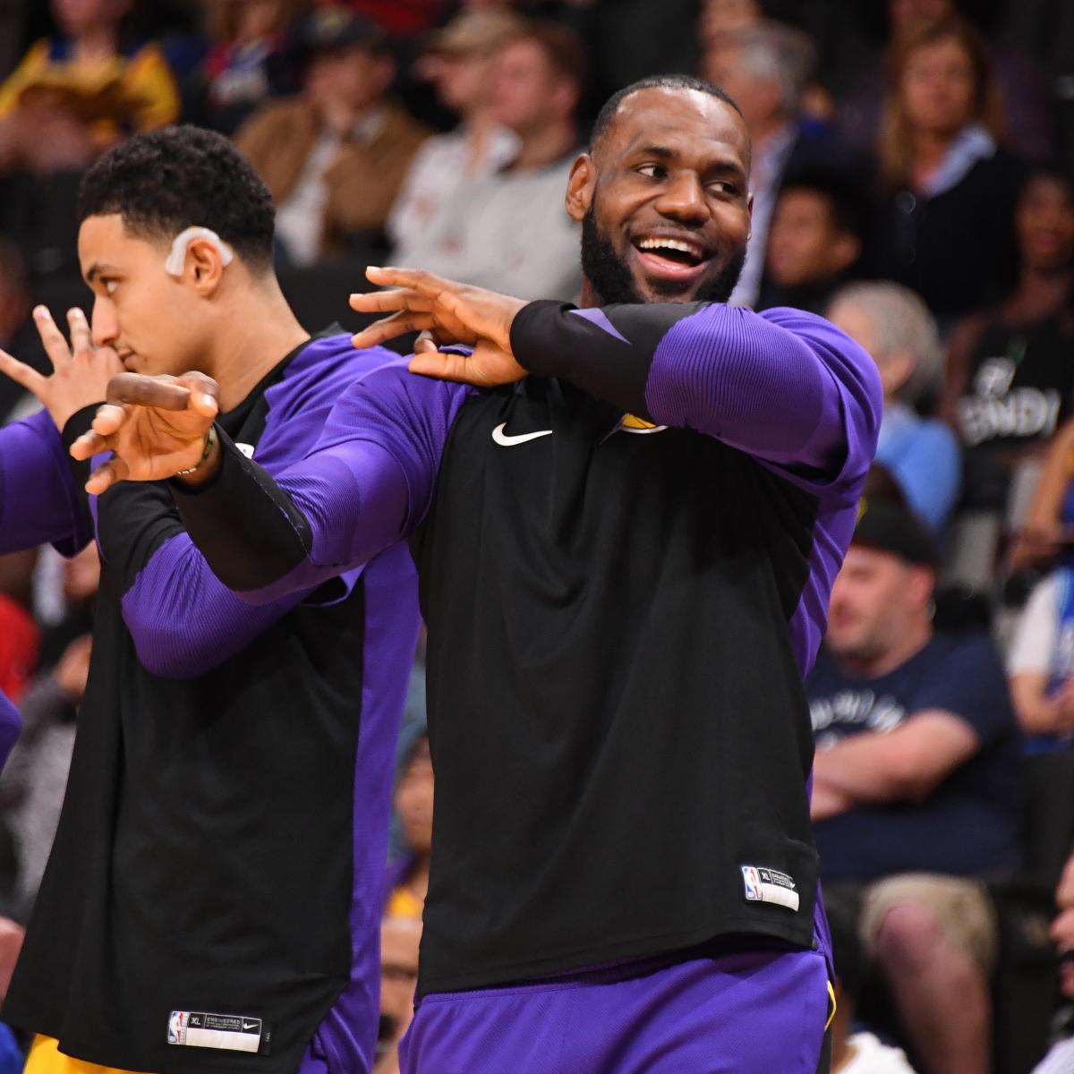 Rockets Vs Warriors Odds 2018: Updated Odds For Lakers Vs. Warriors And Entire NBA