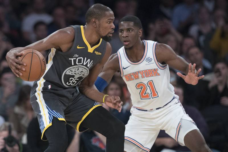 ca3fb8638c8 Kevin Durant Rumors  Knicks Favored to Land SF