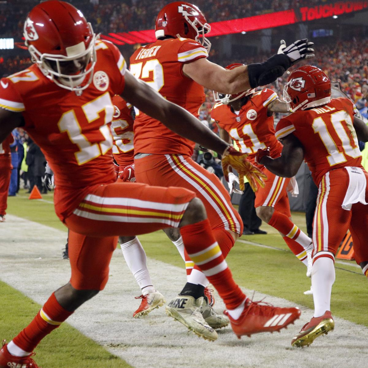 NFL Playoff Scenarios 2019: Latest Bracket Picture, Vegas