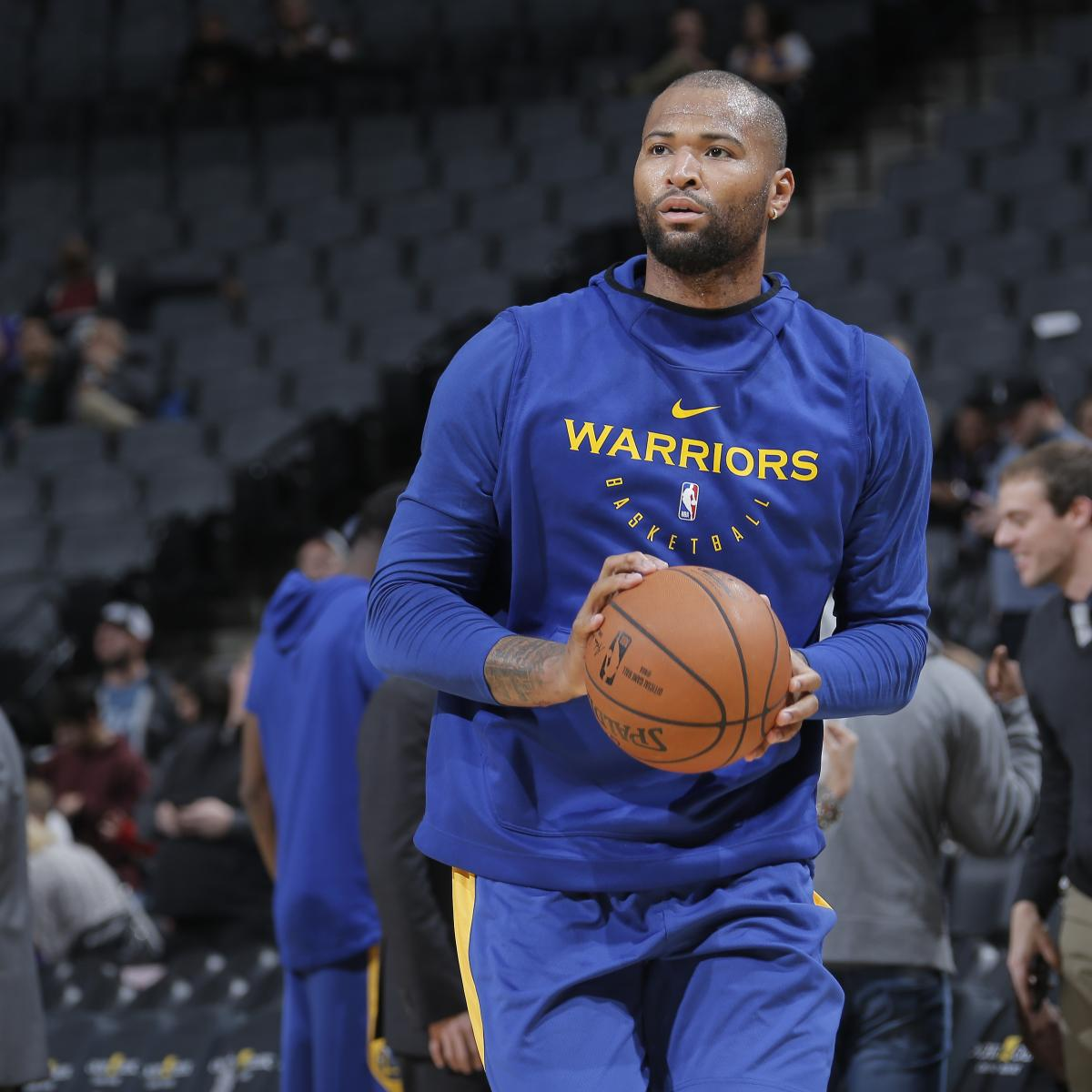 Warriors Come Out To Play Bleacher Report: Warriors News: DeMarcus Cousins Discusses Challenges Of