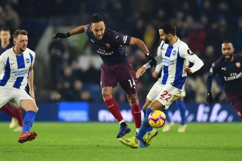 Pierre-Emerick Aubameyang Scores but Arsenal Can't Beat Brighton on
