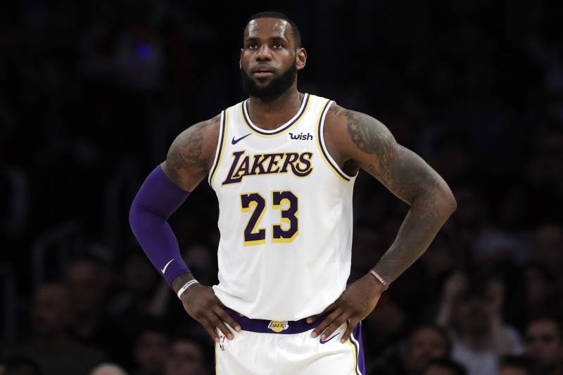 f6ea2688fde LeBron James Won t Play vs. Warriors Because of Maintenance After Groin  Injury