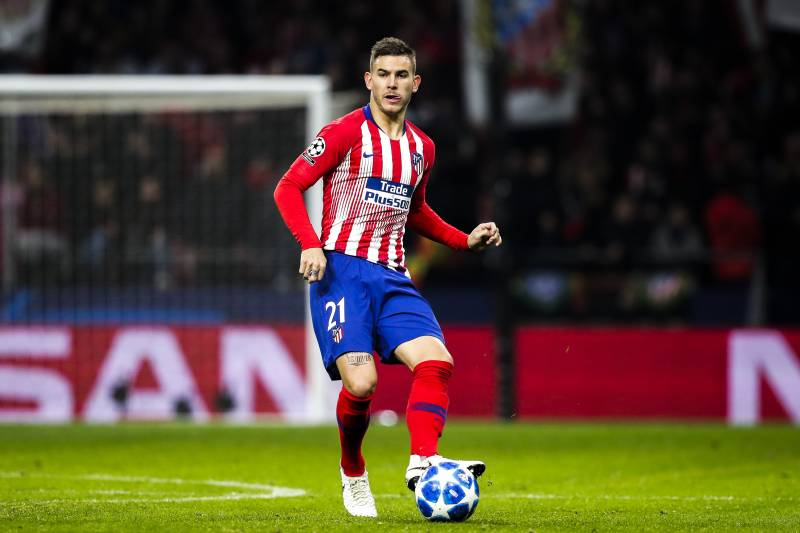 Image result for lucas hernandez atletico madrid
