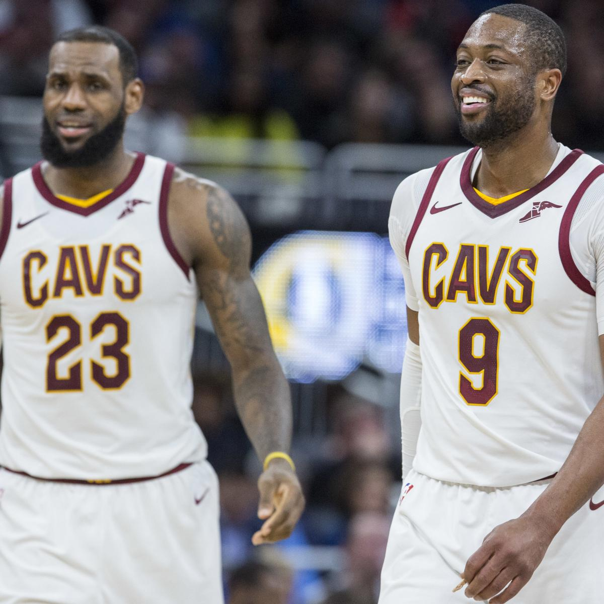 a98ea5a7141 Dwyane Wade Didn't Want Trade from Cavs, Wanted to Stay for NBA Finals Run    Bleacher Report   Latest News, Videos and Highlights