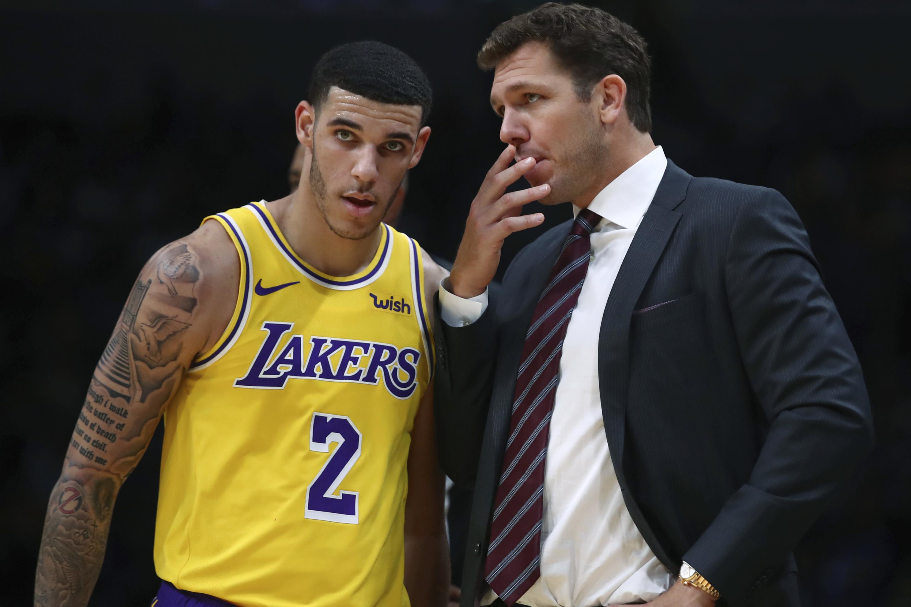 854f67fbec0 Lakers News: Luke Walton, Lonzo Ball Speak on Team's Collapse vs. Clippers