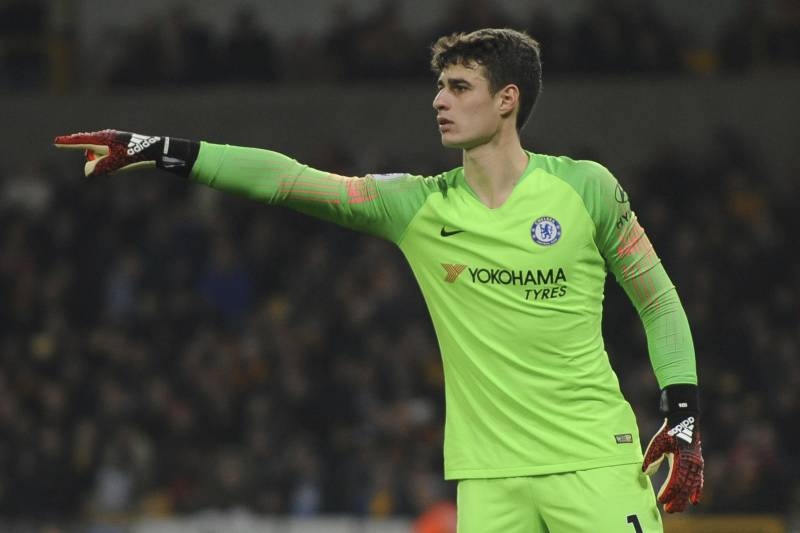 huge selection of 63b61 5b7ed Chelsea's Kepa Arrizabalaga Discusses Record Transfer Fee ...