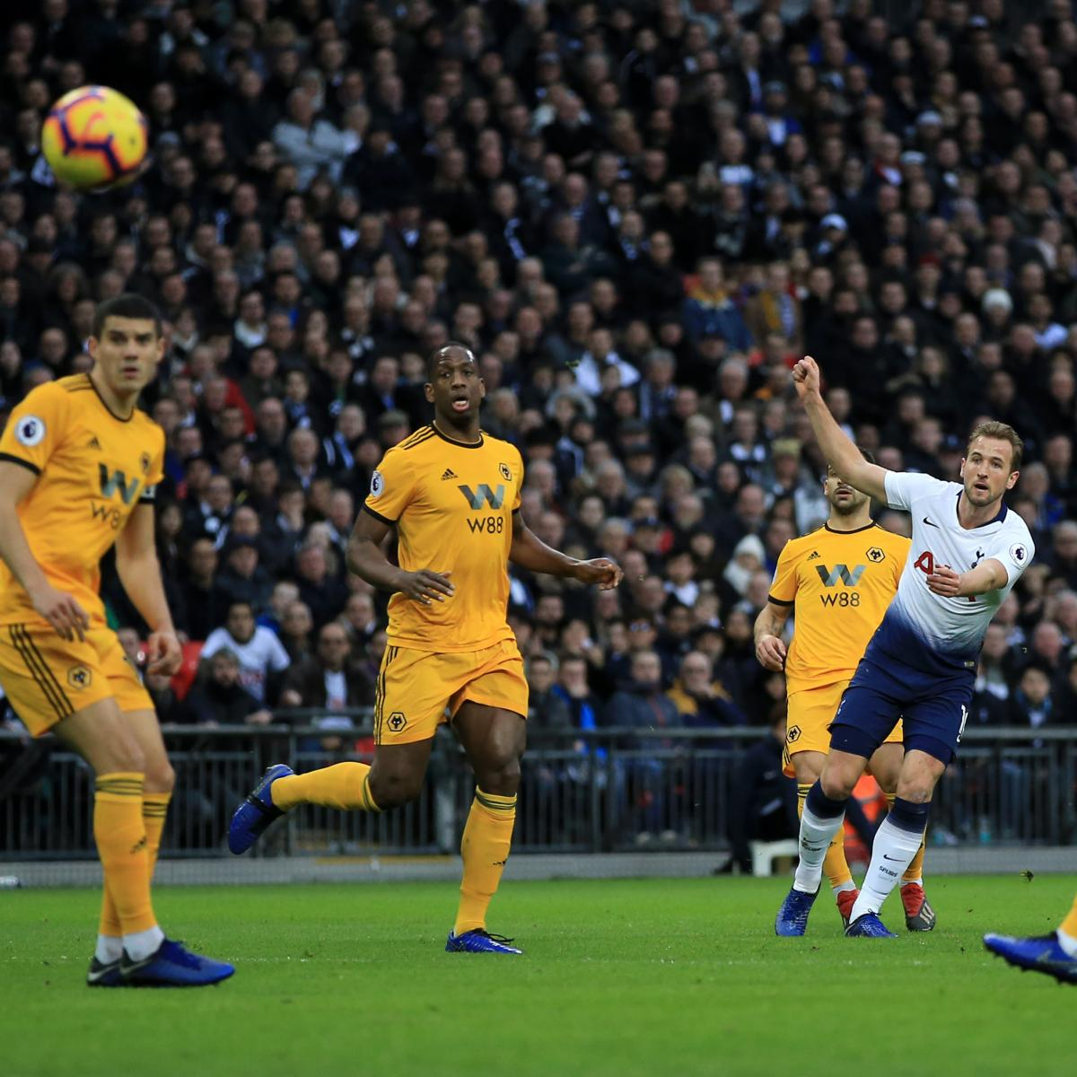 Tottenham 3 Fulham 1 Match Highlights Harry Kane Scores: EPL Table: 2019 Standings After Saturday's Week 20 Results