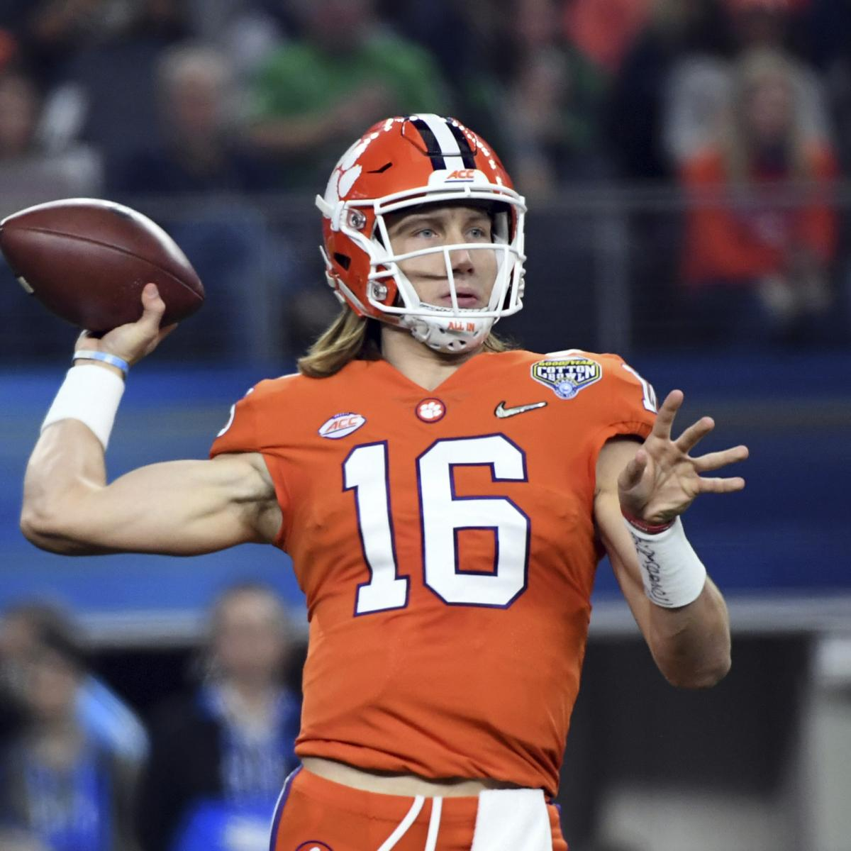 Trevor Lawrence Dazzles, Leads Clemson to CFP Title Game ...