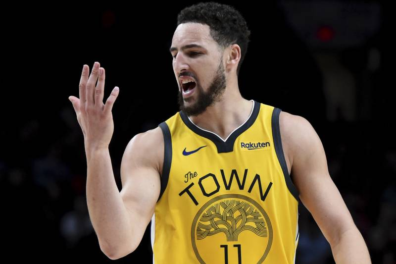 innovative design 64f67 064a2 As Klay Thompson Breaks Slump, Golden State Warriors Look to ...